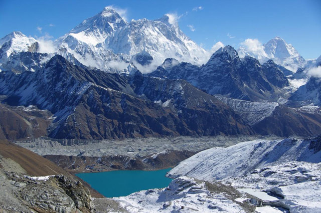 Everest, Lhotse and Makalu