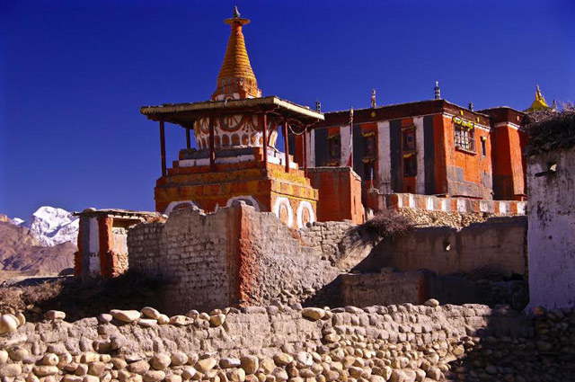 The Gompa in Tserang
