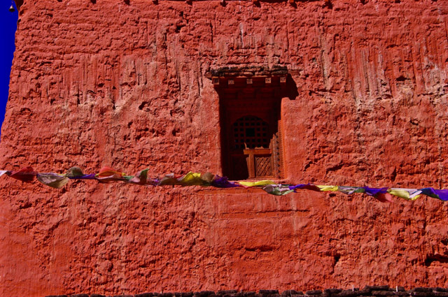 Gompa window